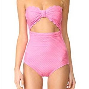 Kate Space Marina Piccola Scalloped One Piece